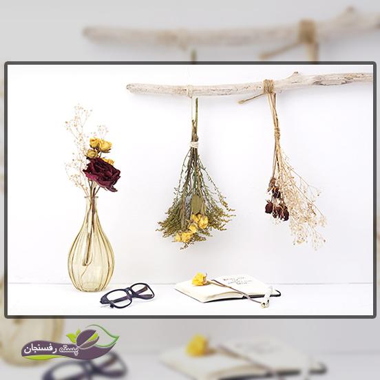 خشک کردن گل طبیعی به روش هوا خشک