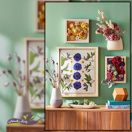 خشک کردن گل طبیعی در منزل
