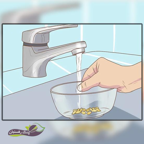 انتخاب و تمیز کردن دانه ها