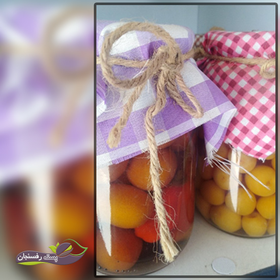 تهیه ترشی میوه کامکوات