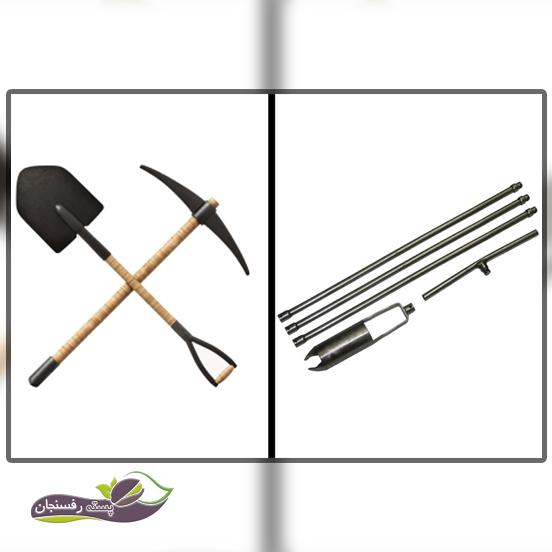 از چه ابزارهایی برای نمونه برداری خاک استفاده شود؟