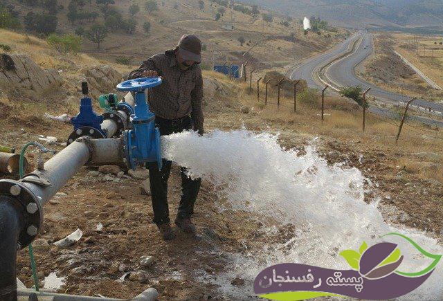 شوری آب آبیاری