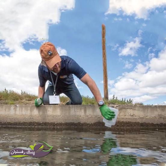 آزمایش آب آبیاری