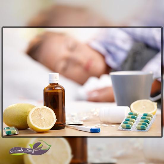 درمان سرماخوردگی با گیاه برنجاسف