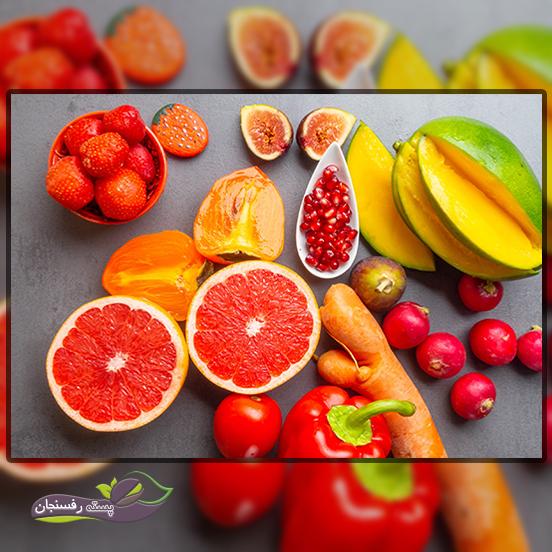 نقش کاروتنوئیدها در میوه ها