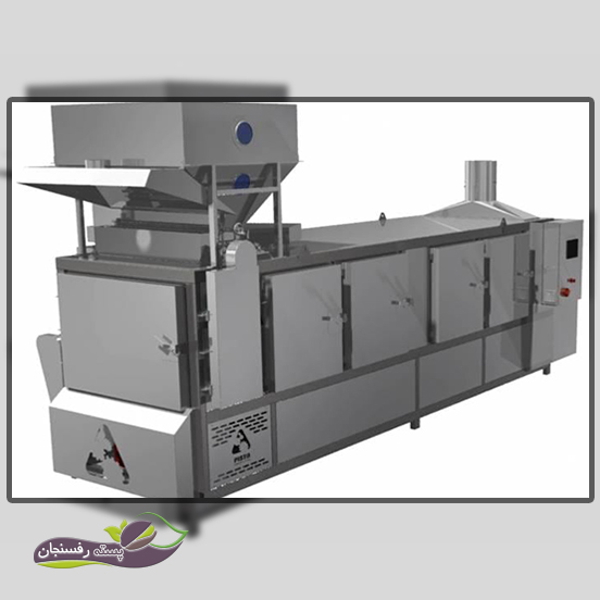 انجام عملیات خشک کردن پسته با دستگاه خشک کن