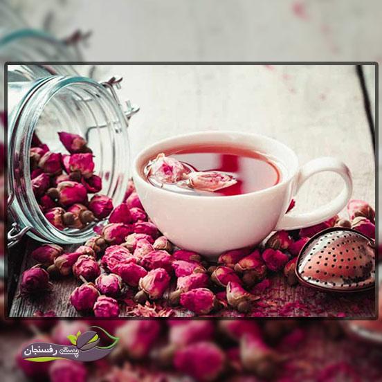 2.چای گل سرخ و تاثیر آن بر سرماخوردگی