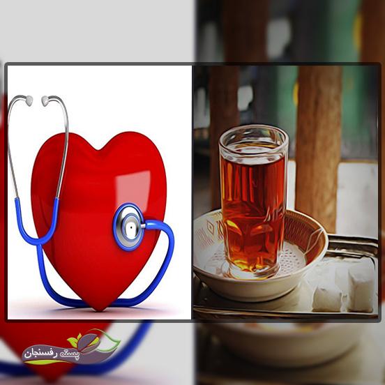 آثار چای در بیماری های عروقی قلب